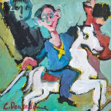 Christine Doucedame Manège 13 x 13 cm