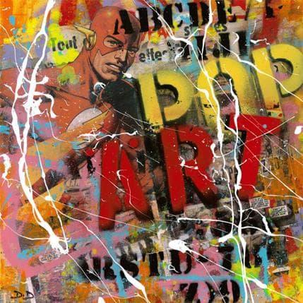 David Drioton Pop Art n20 36 x 36 cm