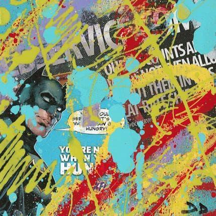 David Drioton Batman n°21 13 x 13 cm