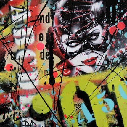 David Drioton Catwoman n°8 19 x 19 cm