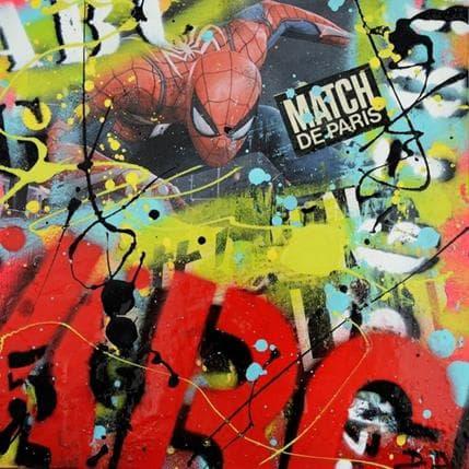 David Drioton Spiderman n°25 19 x 19 cm
