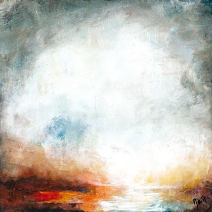 Ode Droit Simple vision du ciel 36 x 36 cm