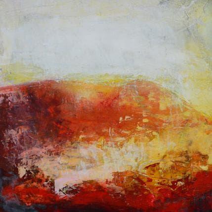 Ode Droit Mont de lumière 25 x 25 cm