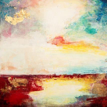 Ode Droit Horizon flamboyant 36 x 36 cm