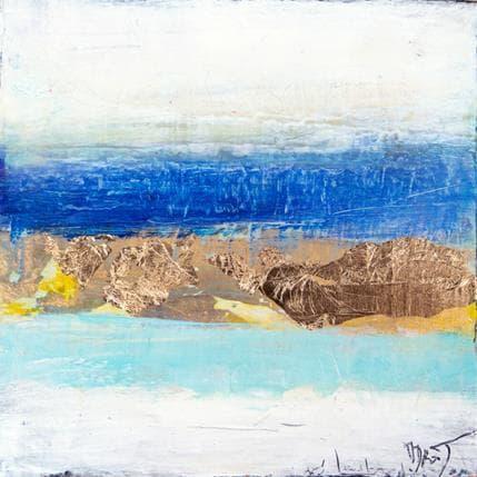 Ode Droit Horizon de lumière 13 x 13 cm
