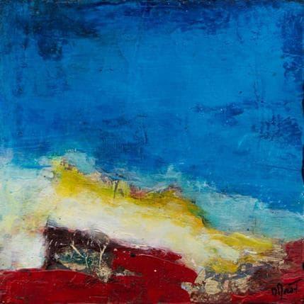 Ode Droit Rive colorée 13 x 13 cm