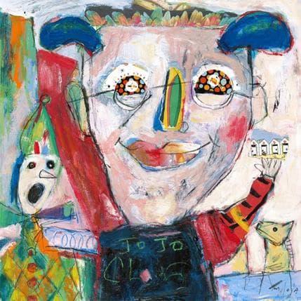 Miguel De Sousa Quel cirque 36 x 36 cm