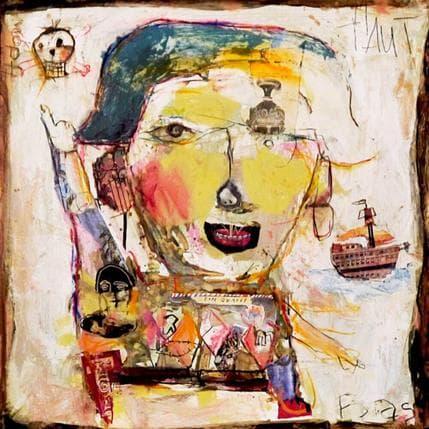 Miguel De Sousa O pirata de mares 50 x 50 cm