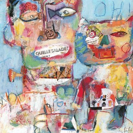 Miguel De Sousa Sans titre 4 36 x 36 cm