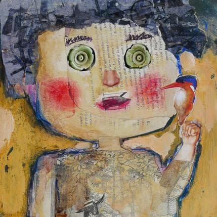 Miguel De Sousa L'oiseau 19 x 19 cm