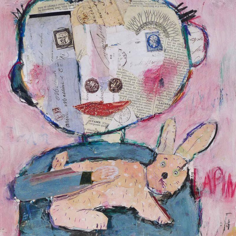 Le petit garçon et le lapin