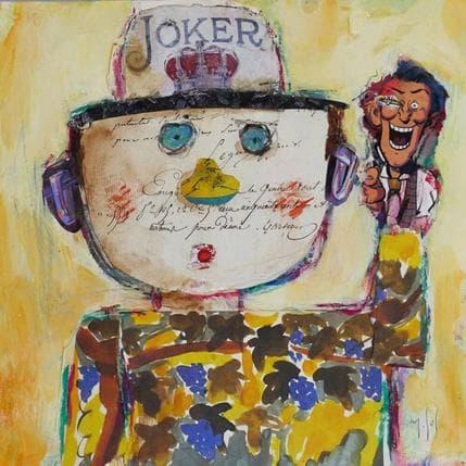 Miguel De Sousa Joker 25 x 25 cm