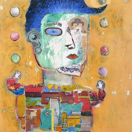 Miguel De Sousa Le jongleur 36 x 36 cm