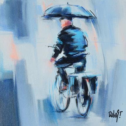 DUBOST Sous la pluie 25 x 25 cm