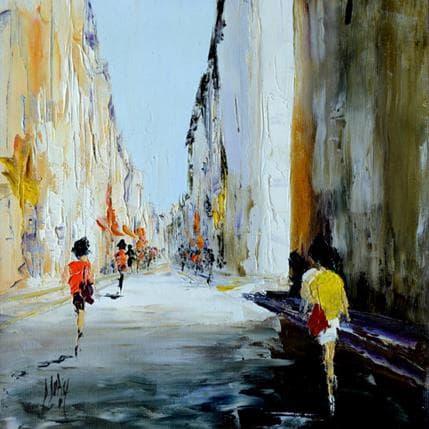 Dominique Dupin Dans les rues calmes 25 x 25 cm