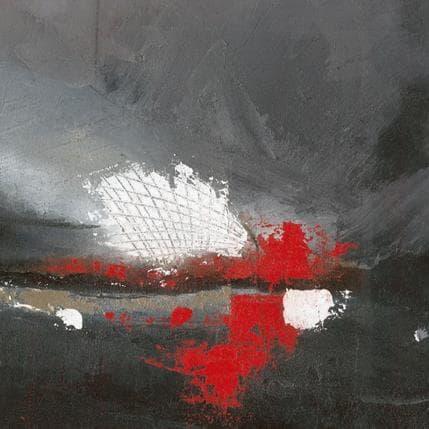 Nathalie Dumontier Reflets argentés 19 x 19 cm
