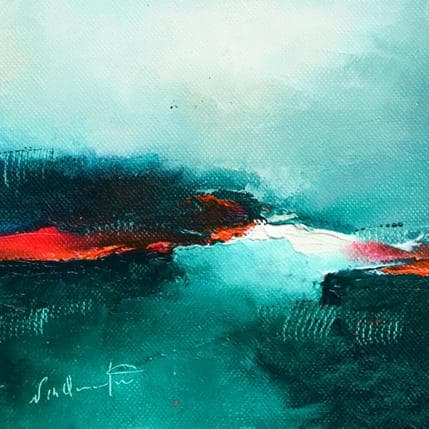 Nathalie Dumontier Puis,un long silence 13 x 13 cm