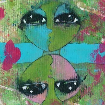 Hanna Ekegren Reflections 19 x 19 cm