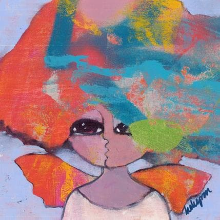 Hanna Ekegren When tears are in your eyes I´ll dry them all 25 x 25 cm