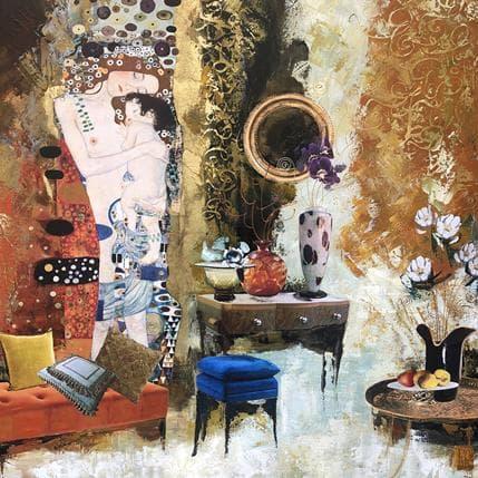 Karine Romanelli L'amour de l'enfant 80 x 80 cm