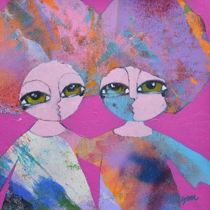 Hanna Ekegren Hold me in your arms 25 x 25 cm