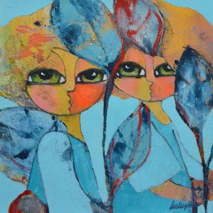 Hanna Ekegren Silver dreams 1 25 x 25 cm