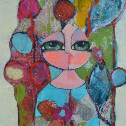 Hanna Ekegren Silver dreams 2 25 x 25 cm