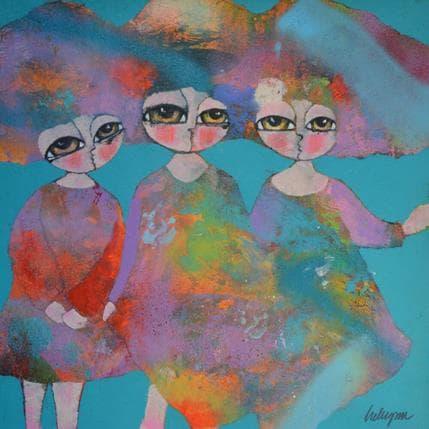 Hanna Ekegren Dancing 36 x 36 cm