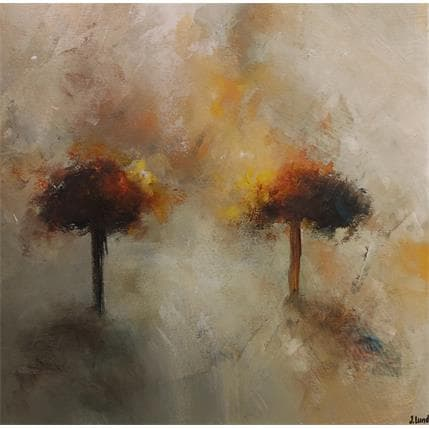 Jonas Lundh Poetry tree 3 36 x 36 cm