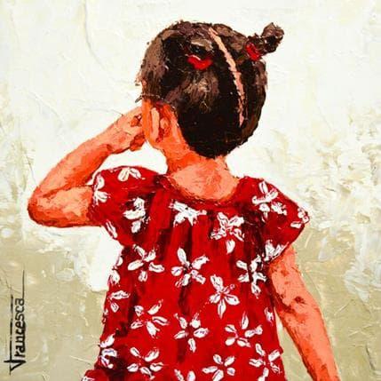 Francesca Escobar Little girl 25 x 25 cm