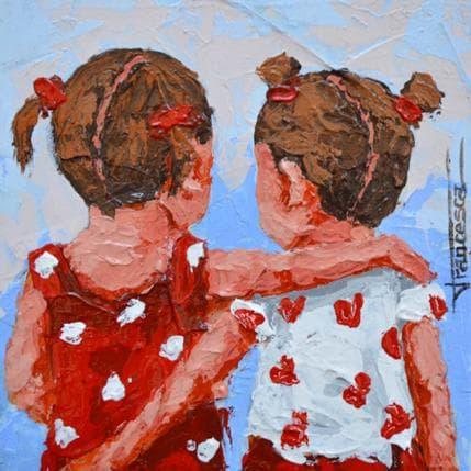 Francesca Escobar Abrazo 13 x 13 cm