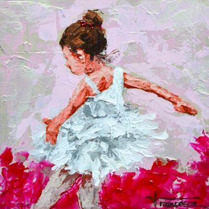 Francesca Escobar Bailarina rosa 19 x 19 cm