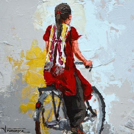 Francesca Escobar Nepal en bici 1 25 x 25 cm