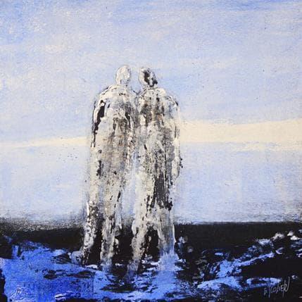 Odile Escolier Horizon infini 25 x 25 cm