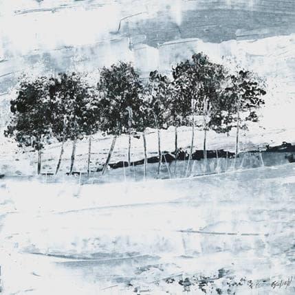 Odile Escolier Dans le silence 25 x 25 cm