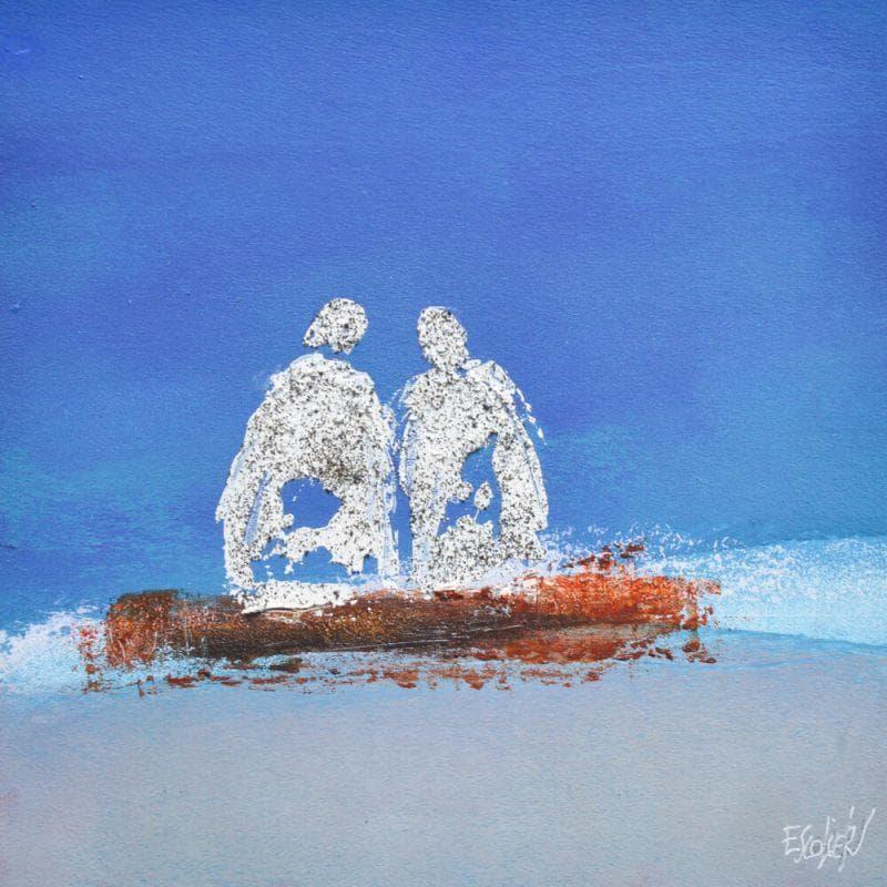 Dans la beauté d'un bleu profond