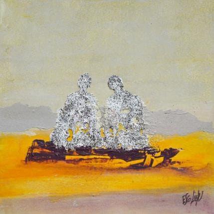 Odile Escolier Dans un murmure 19 x 19 cm