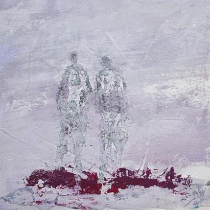 Odile Escolier Infiniment 36 x 36 cm
