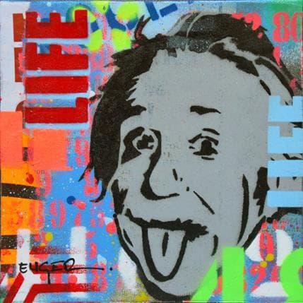 Philippe Euger Einstein life 13 x 13 cm