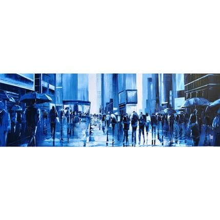 Maurizio Galloro Les marcheurs 120 x 40 cm
