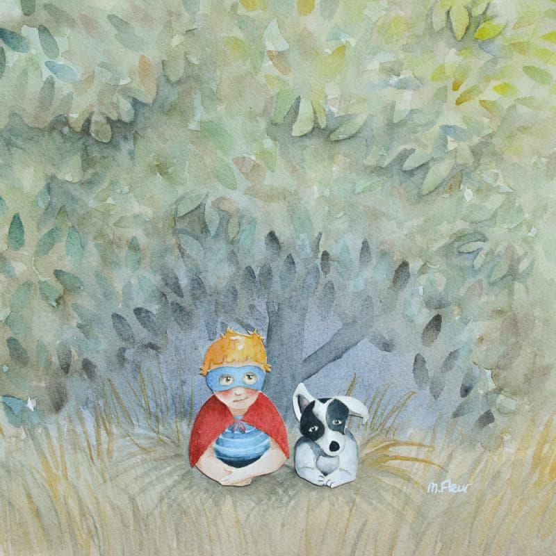 Petit bandit et son chien