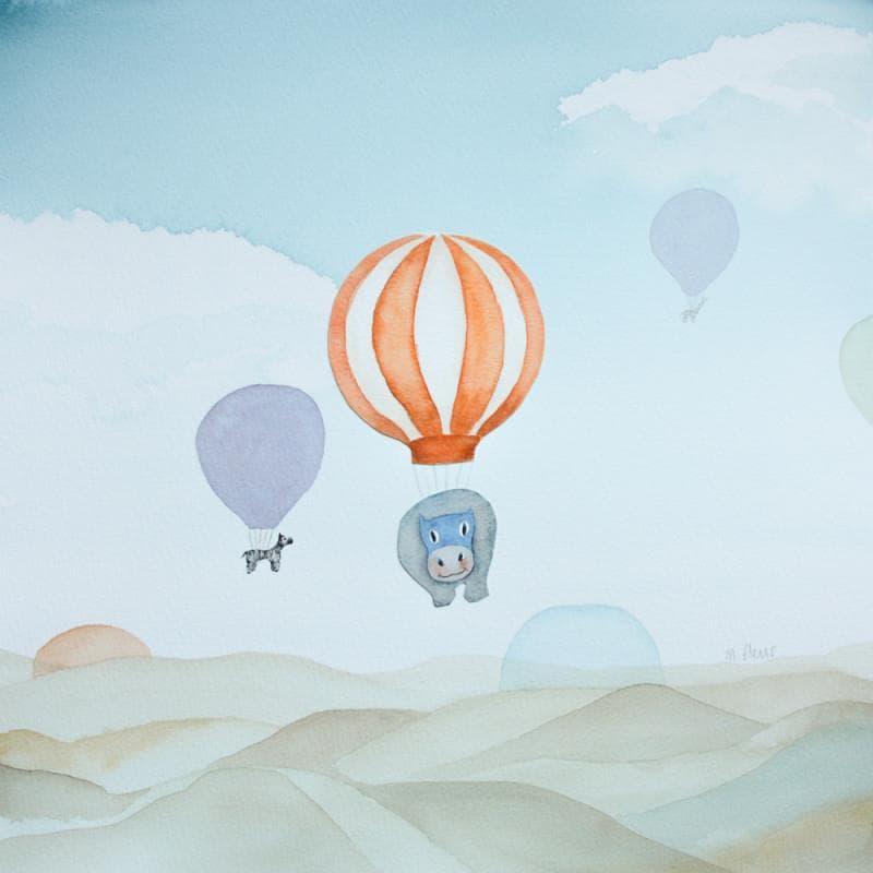 Vol de mongolfières