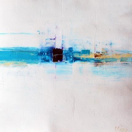 Véronique Fièvre Panorama portuaire 36 x 36 cm