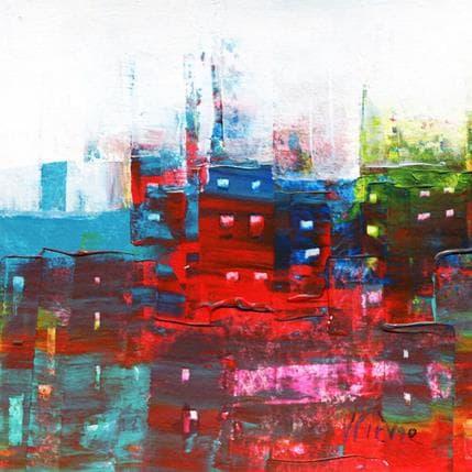 Véronique Fièvre Petite composition urbaine 13 x 13 cm