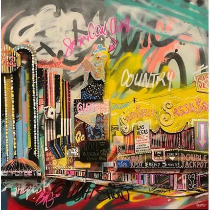 Pappay Las Vegas Paradise 100 x 100 cm