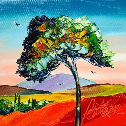David Fonteyne L'arbre 13 x 13 cm