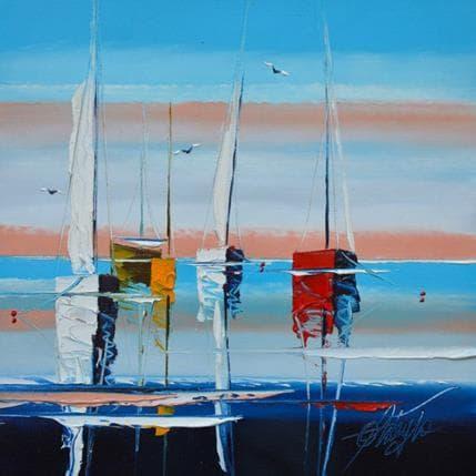 David Fonteyne La vague des bonheurs 25 x 25 cm