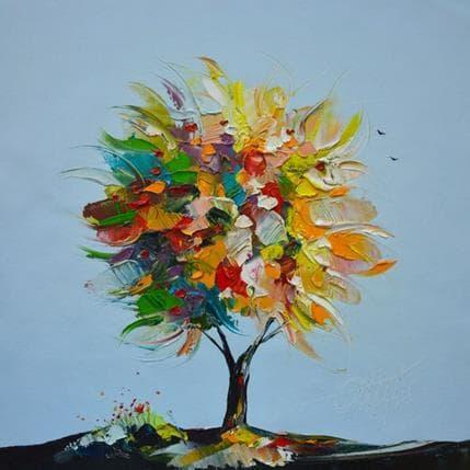 David Fonteyne L'arbre de tes amours 36 x 36 cm