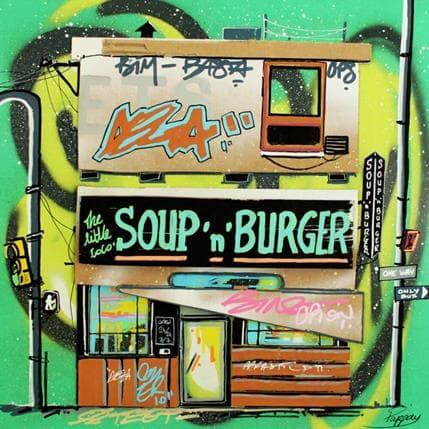 Pappay Soup'n burger 36 x 36 cm