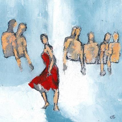 Corinne Malfreyt-Gatel Andalouse 36 x 36 cm